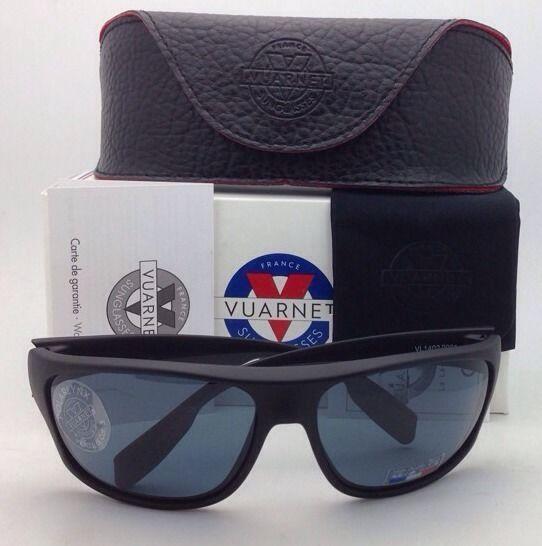 1b1e2aaca9 New VUARNET Polarized Sunglasses VL 1402 0001 Black Frame w ...