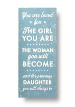 Rustic Wood Sign - 'You Are Loved For The Girl...' Approx 10 x 19 - Item... - $36.00