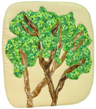 In the Treetops: Quilted Art Wall Hanging - $445.00
