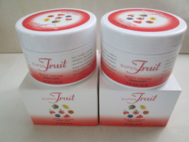 2 Perlier ~SUPER FRUIT~ Body Cream 7oz Boxed, Sealed - $23.99