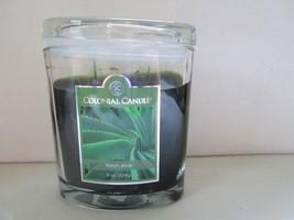 Colonial Candle  ~~FRESH ALOE~~ Jar 8 oz w/ lid, 50 hrs - $14.99