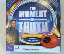 The Moment Of Truth Party Game 2008 Selchow & Righter Biometric Lie Dete... - $14.01