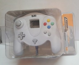 NEW White Naki Advanced Sega Dreamcast Controller Pad W/ Slow Motion & Turbo - $59.95