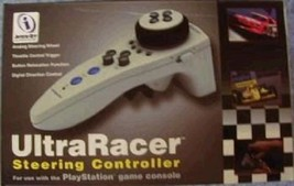 BRAND NEW ULTRA RACER CONTROLLER FOR PLAYSTATION 1 SYSTEM - $18.95