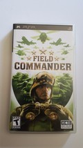 1st Edition Field Commander Sony PSP Complete CIB Game +Case & Manual US... - $14.95