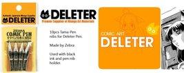 Deleter for Zebbra Comic Pen Nib Tama-pen 10pc - €17,76 EUR