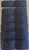 24 Lot  12 AV Audio Video  cables  & 12 Jumper pak Cover Lid for NINTEND... - $39.00