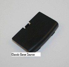 BLACK GAME BOY ADVANCE REPLACEMENT BATTERY COVER LID DOOR FOR SYSTEM CON... - $1.95
