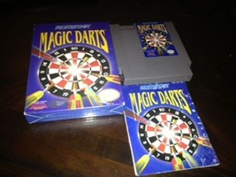 Magic Darts game for 8 Bit Nintendo NES with Or... - $24.95