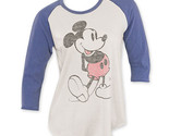 Disney mickey raglan long sleeve jnk womens shirt thumb155 crop