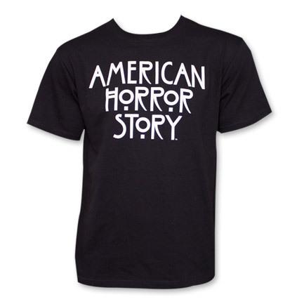 American horror story logo black shirt2
