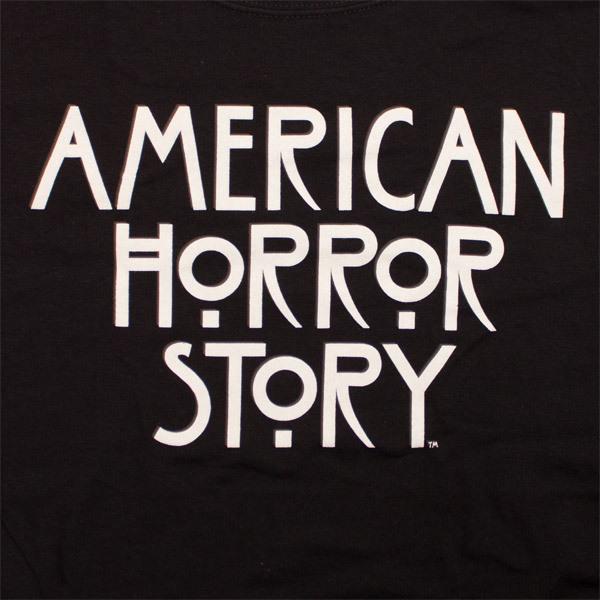 American Horror Story Logo Shirt Black