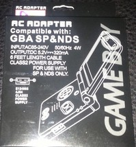 NEW Packaged AC Power Supply Cable adapter for the Nintendo DS Console S... - $6.95