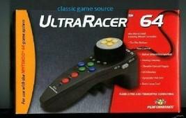 2   BRAND NEW ULTRA RACER CONTROLLER FOR N64 NINTENDO 64 - $14.95
