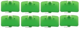 8 LOT NEW Jungle Green Memory Expansion Jumper Pak Cover Lid Nintendo 64... - $19.95