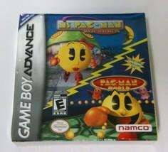 NEW Crushed box Mrs Ms Pac Man Maze Madness &  Pac-Man World Game boy Ad... - $9.95