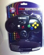 4 NEW Tomee Controllers N64 NINTENDO 64  1 Black 1 Grey 1 Green 1 Red - $39.95