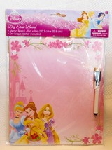 Disney Princess Dry Erase Board Marker Message Drawing NEW