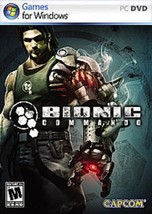 NEW Factory Sealed Bionic Commando Game for Windows PC (2009) - $5.95
