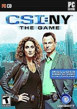 NEW CSI NY NEW YORK The Game for Windows PC (2008) Factory Sealed - $5.95