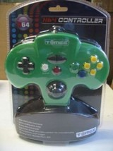 2 (TWO) NEW Green Retro Tomee  Controller Joystick pads for N64 NINTENDO 64 - $19.95