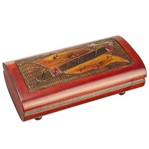 Polish Handmade Wood Cigar Box, Man Jewelry Box - €48,74 EUR