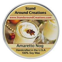 Premium 100% Soy Tureen Candle - 3 oz. - Amaretto Nog: A holiday warmer ... - $9.99