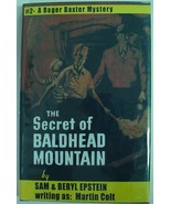 Roger Baxter Mystery #2 The Secret of Baldhead Mountain Limited Edition ... - $40.00