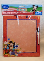 Disney Mickey Mouse Dry Erase Board Marker Message Drawing NEW