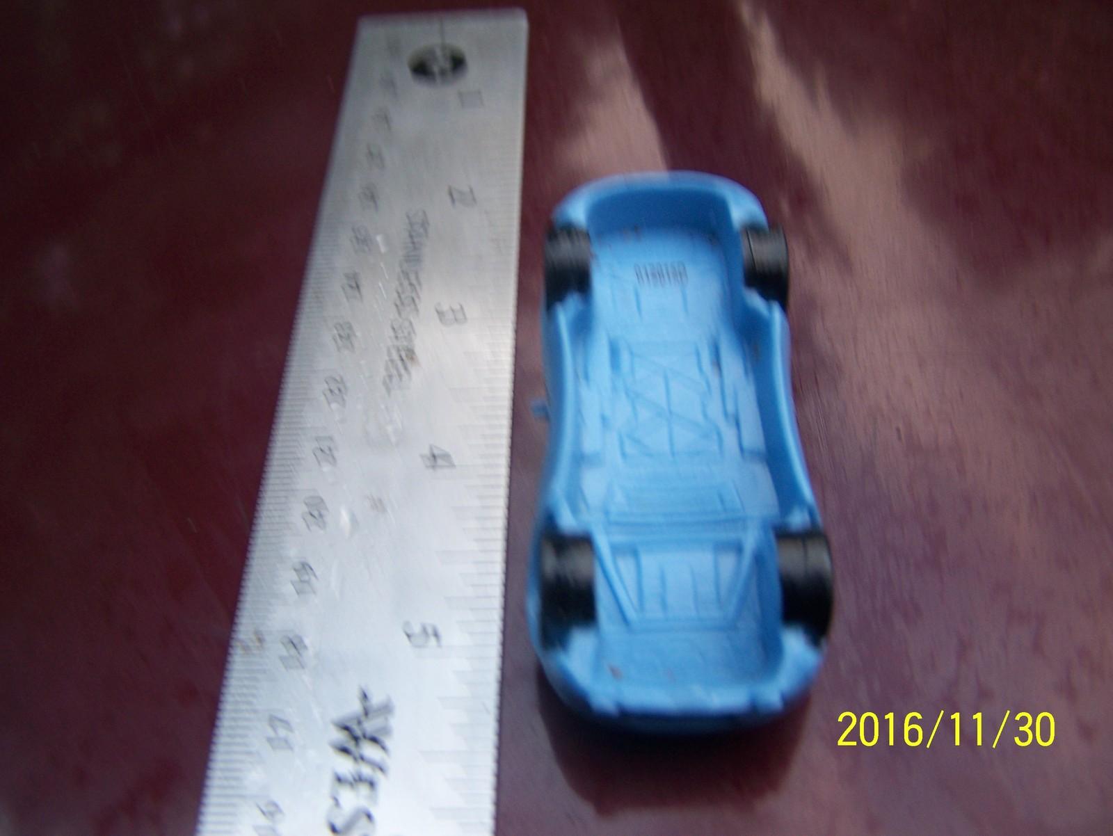 blue PIXAR DISNEY car
