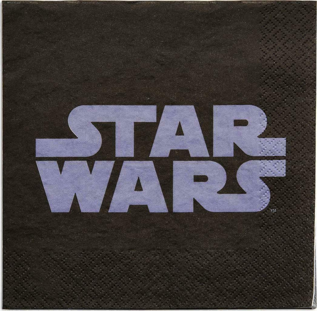 Star Wars Classic Lunch Dinner Napkins 16 Per Package Birthday Party Supplies