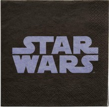 Star Wars Classic Lunch Dinner Napkins 16 Per Package Birthday Party Sup... - $5.89