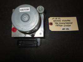 11 12 13 Hyundai Elantra Abs & Module #58920-3X650 *See Item* - $84.14