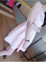 PF013 Sweet & elegant halter mini dress w bow, cotton, Size s,m,l - $18.80