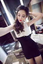 PF217 sexy stunning neck halter mini dress SIZE S-2xl - $22.80