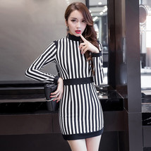 PF159 Sexy cutie stripped long dres, size s,m,l - $32.80
