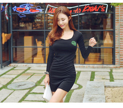 pf207 sexy low bust mini dress,, SIZE m-2xl - $22.80