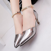 PP137 Luxury rhinestones ankle pumps,size 35-39 - $32.80+