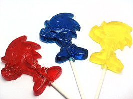 12 HEDGEHOG LOLLIPOPS - New and Improved - $15.99