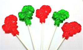 12 CANDY CANE with BOW Lollipops - Stocking Stuffers, Holiday Favors - $13.99