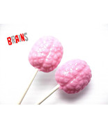 12 BRAIN LOLLIPOPS - Hard Candy Lollipops - $13.99