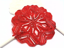 12 SNOWFLAKE LOLLIPOPS - $15.99