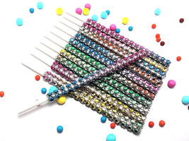 16 - RAINBOW Cake Pop Bling Sticks - Free US Shipping - $11.99
