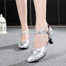 pp160 Elegant genuine leather strappy ankle pumps,size 34-41 - $38.80