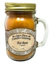 Cinnamon Hot Buns Scented 13 Ounce Mason Jar Ca... - $17.95