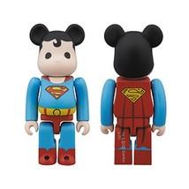 2013 SDCC EXCLUSIVE Bearbrick DC Super Powers Superman Action Figure - $24.49