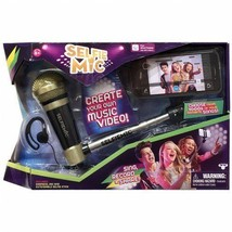 Black Microphone extension Ear peice Selfie Stick Ad - €19,12 EUR