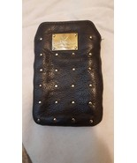 Rebecca Minkoff black leather Stud Stevie cell ... - $17.00