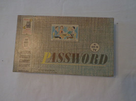 Password Milton Bradley Game 1962 #4260 - $7.92