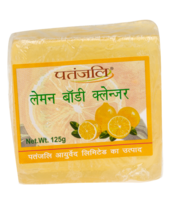 PATANJALI LEMON BODY CLEANSER SOAP BAR- 125gm  - $11.99+